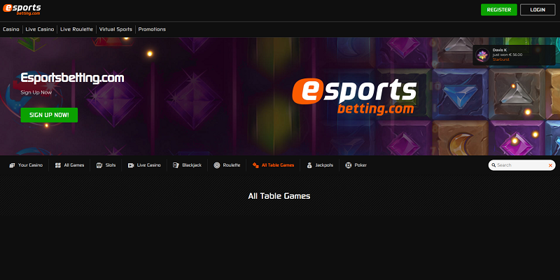 esportsbetting website