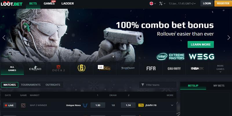 loot.bet website