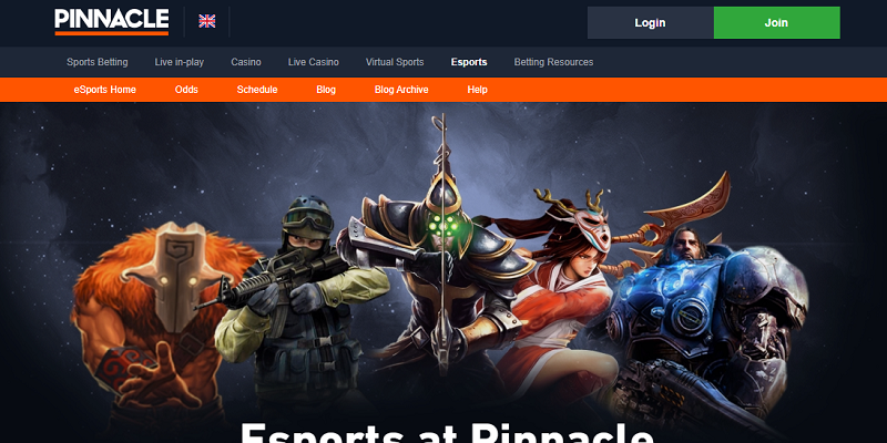 pinnacle.com website