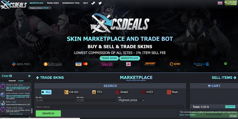 cs.deals website